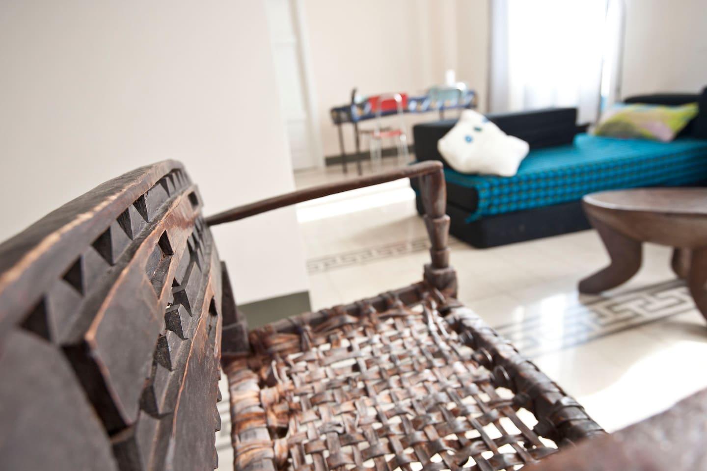 african ethnic furniture