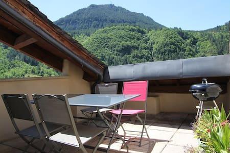 Gîte LE TOMPLE - gorges du Tarn - Ispagnac - Appartement