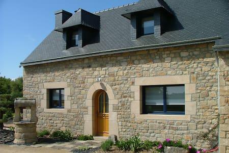 Charmante maison en pierre au calme - MERLEVENEZ - Dom