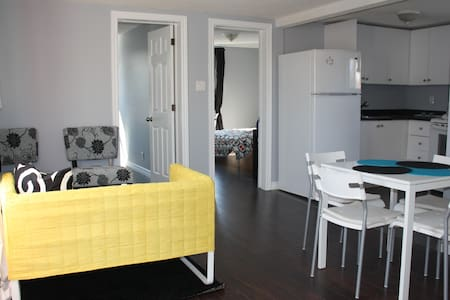 Two-bedroom fully furnished apt