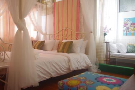 Family Room, BTS Wongwian Yai - Thonburi - Bed & Breakfast