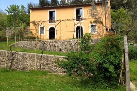 Country house in a wonderful park - Balsorano Nuovo - Villa