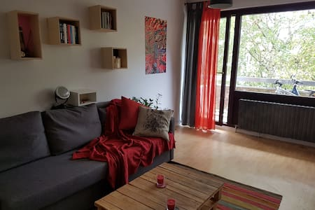 Nice room close to Geneva + parking place - Gaillard - Appartement