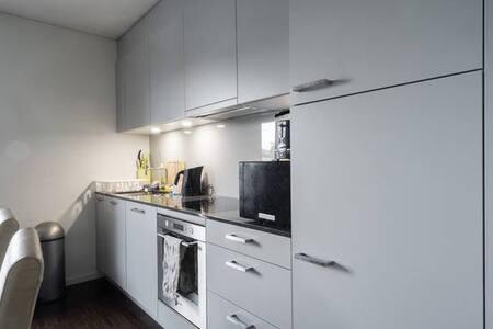 Grosse Neubau-Wohnung, 2 Badezimmer, 100% Komfort - Zürich - Appartement