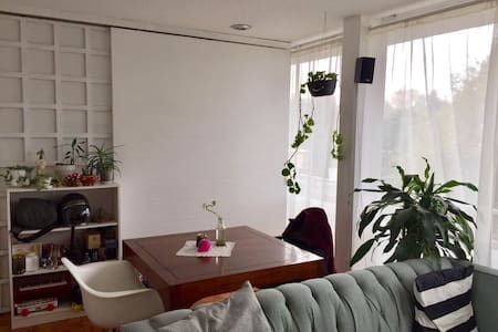 Lovely apartment near to Condesa with balcony - Mexiko-Stadt