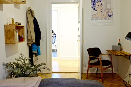 Charming room in beautiful quiet appartment in CPH - Frederiksberg - Apartment