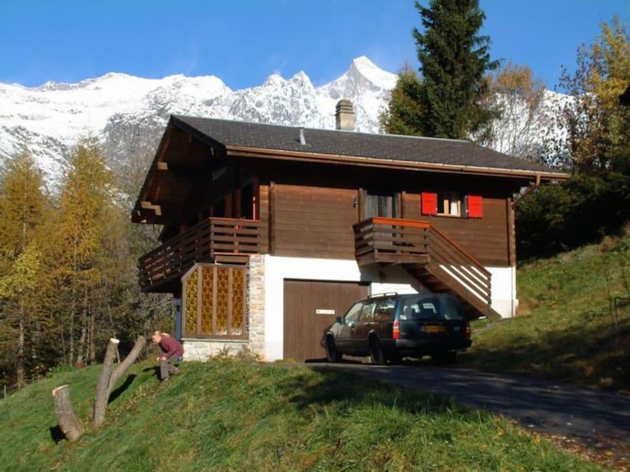 Chalet near Bellwald, 6 persons