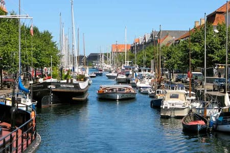 Christianshavn waterfront apartment