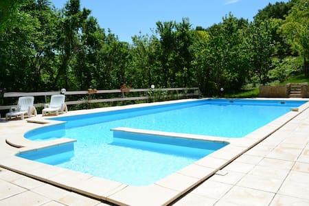 gite st henry avec piscine - Laurac