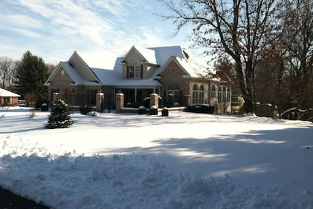 Gated Garden home in Elsah, IL - Elsah - House