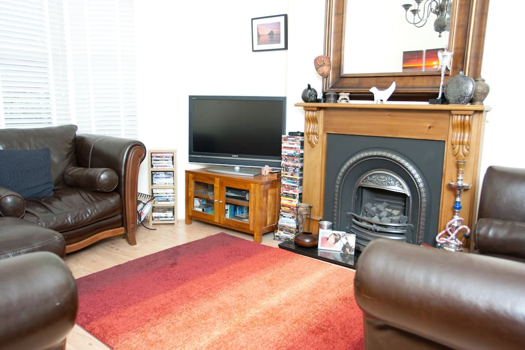 Family lounge 40inch TV and SKY