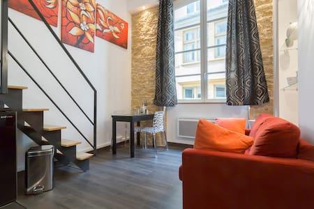 studio dans immeuble de Canuts 26m2 - Lyon - Appartement