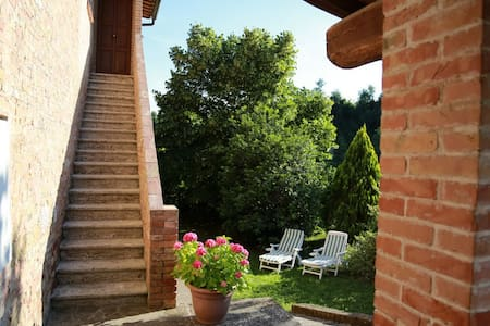"""Il Nespolino"" Tuscan Country House - Siena - Wohnung"