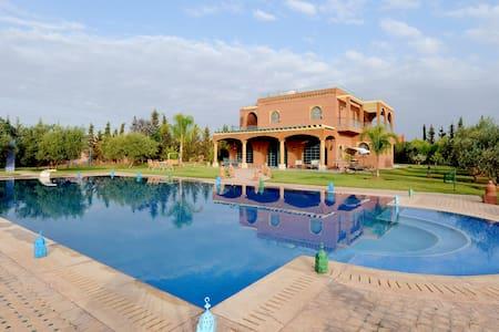 Luxurious villa DarMoudar Marrakesh - Villa