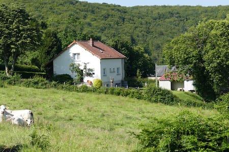 """""""Lé mayon du Robert"""": maison parc du Morvan - Corancy - Casa"""