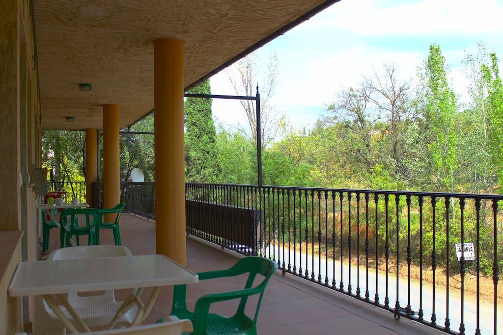 Apartments terrace