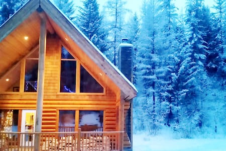 LUXURIOUS LOG CABIN|SLEEPS 8 ADULTS|MOUNTAINS|WIFI - Kimberley - House