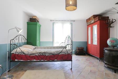 chambre face au Luberon - Bonnieux