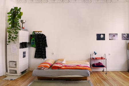 Friendly, spacious room in Mitte