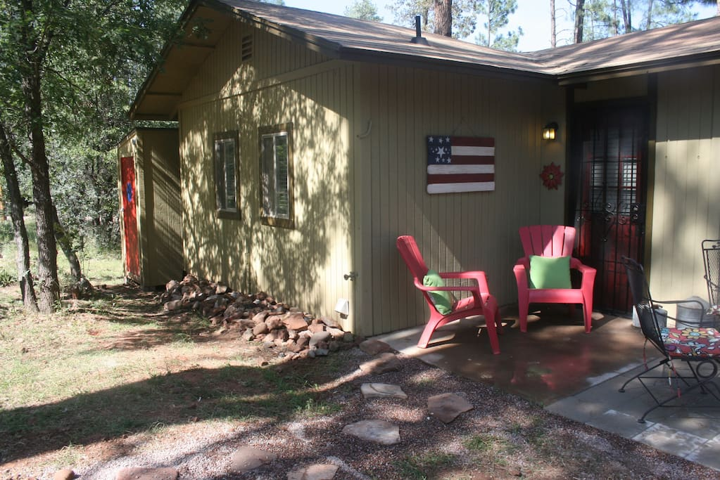 Cozy Bunkhouse Pine Az Cabins For Rent In Pine