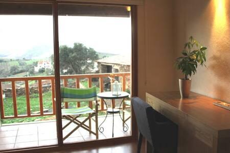 Casa das Quintas-quarto com lareira - Srub