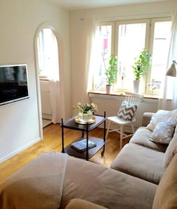 Cosy and central apartment in the heart of Linné - Gothenburg