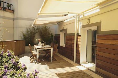 Gorgeous Terrace flat central - Santander - Apartamento