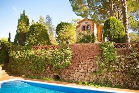 Villa Lujo junto Barcelona Piscina - Villa