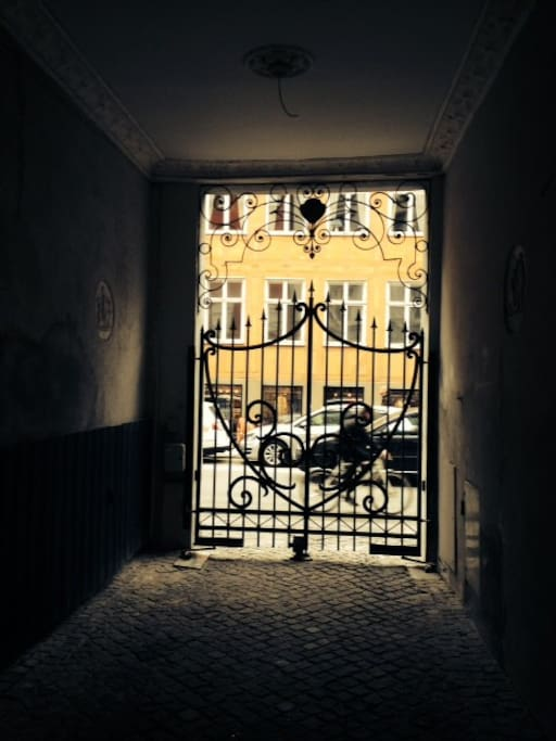 Our fancy gate