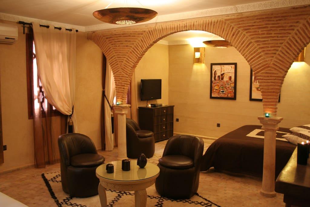 Suite Chocolat Riad Turquoise