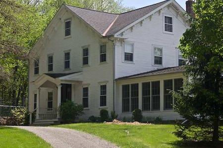 Farmhouse and 3 cabins on 40 acres - Pine Plains