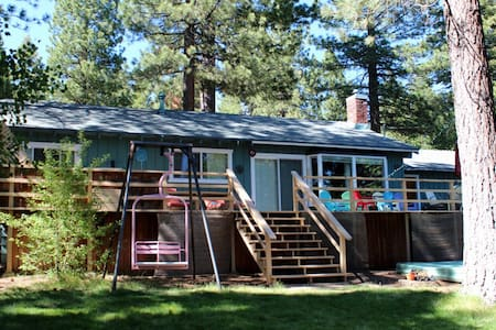 Relaxing Tahoe home with large yard
