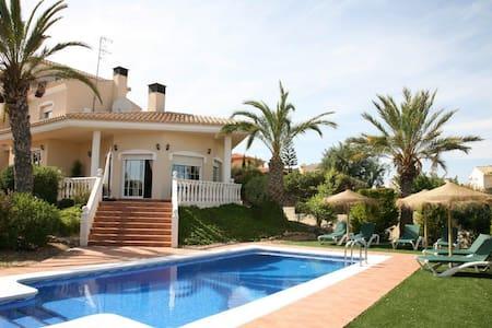 5 Bedroom Villa with private pool - Vera