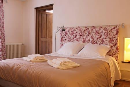 Chambre d'hôtes de charme : Pressoir de l'abbaye - Vézelay - Penzion (B&B)