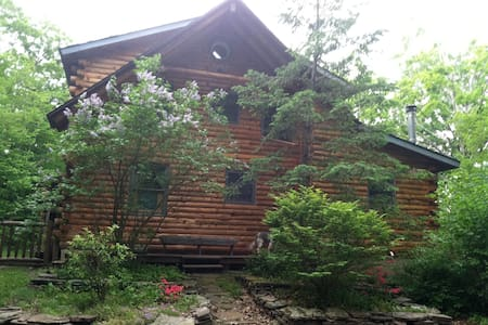 SECLUDED LOG HOME NEAR WINDHAM, NY - East Jewett
