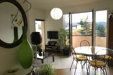 Superbe meublé T3 entièrement équipé vue dégagée - Billère - Ortak mülk