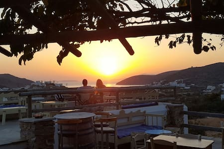 Triple Studio with sea view - Κατάπολα