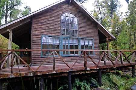 Cabaña Lago Coihuín - Kisház