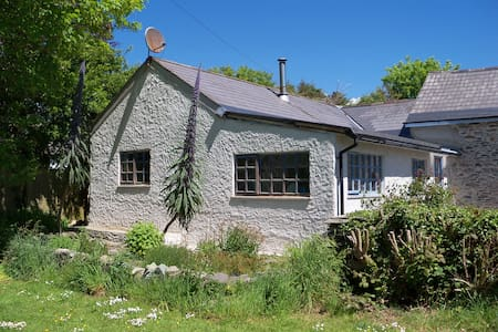 Located 1.5 miles from the village of Schull on the Mizen Peninsula, West Cork Ireland. Willy's Barn Annex offers self catering, self contained accommodation. Spacious bedroom,shower room and a galley kitchen with sitting and dining area.