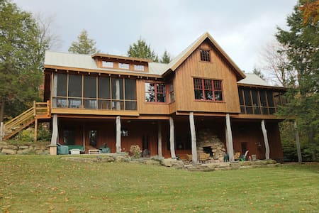 Algonac - Luxury Timber Lodge in Eagles Mere PA - Eagles Mere