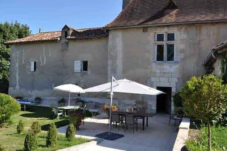 Suite Marion au Manoir de Longecote - Slott