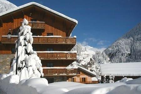 Chalets de luxe, Loft paysagé, cheminée, plein sud - Champagny-en-Vanoise - Loft