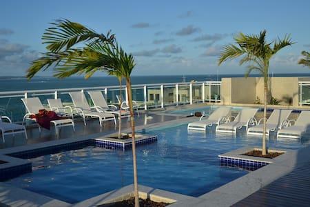 Apartamento Luxuoso JTR - Beira Mar de Maceió - Maceió - Apartemen
