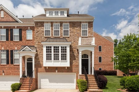 Modern and spacious luxury townhouse in Raleigh - Casa a schiera
