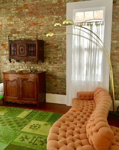 Gated Garden District Shotgun with Pool - Nueva Orleans - Departamento