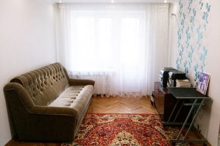 two-roomed apartment in a calm area of Kyiv - Kiev - Leilighet