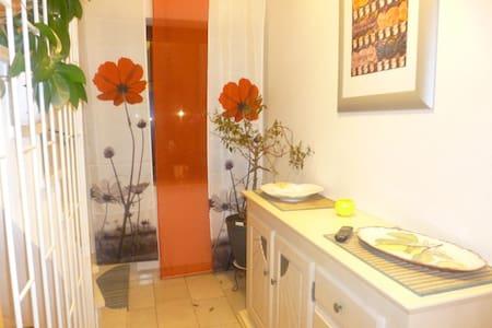Ruhe und Stadtnähe in kleiner Wohnung - Puchheim - Apartamento