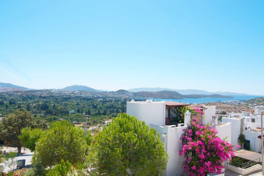 There are only two green areas on the Bodrum peninsula - and Bitez is the nicer of the two.