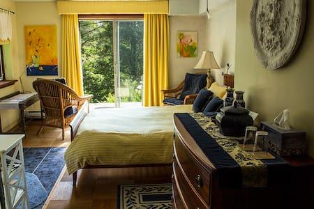 B&B Domaine des chutes : La chambre romantique - Bed & Breakfast