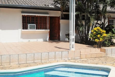 poolside room in colonial mansion - Managua - House